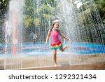 kids play in aqua park....   Shutterstock . vector #1292321434