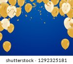 celebration party banner with... | Shutterstock .eps vector #1292325181