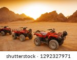 the cars for  excursion in the...   Shutterstock . vector #1292327971