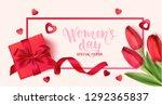 women's daysale design template.... | Shutterstock .eps vector #1292365837