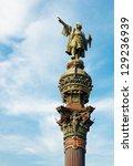 monument of christopher... | Shutterstock . vector #129236939