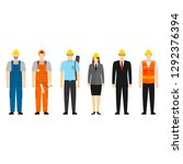 job occupation vector pack | Shutterstock .eps vector #1292376394