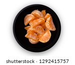 top view of many orange fruits... | Shutterstock . vector #1292415757