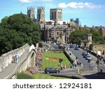 Postcard View Of York City Wit...