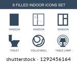 indoor icons. trendy 6 indoor... | Shutterstock .eps vector #1292456164