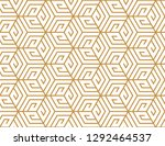 abstract geometric pattern. a... | Shutterstock .eps vector #1292464537