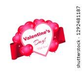 beautiful vector banner for... | Shutterstock .eps vector #1292481187