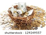 Nest Egg Overflowing With Money
