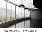 empty room of business  or... | Shutterstock . vector #129253151