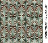 Art Deco style seamless pattern texture | Shutterstock vector #129256289