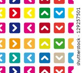 seamless pattern of colored... | Shutterstock .eps vector #129257501
