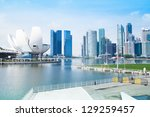 singapore   apr 15  a view of... | Shutterstock . vector #129259457