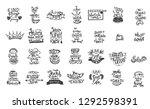 vector chalkboard phrase... | Shutterstock .eps vector #1292598391
