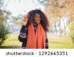 close up portrait of pleasant...   Shutterstock . vector #1292665351