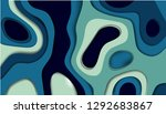 abstract paper carve template...