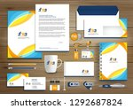 corporate identity business ... | Shutterstock .eps vector #1292687824