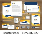 corporate identity business ... | Shutterstock .eps vector #1292687827