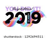 congratulations graduates class ... | Shutterstock .eps vector #1292694511