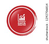 data analysis  graph icon ... | Shutterstock .eps vector #1292706814