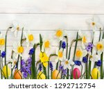Easter Decoration. White And...