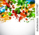 splash background. raster...   Shutterstock . vector #129277487