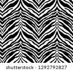 seamless endless abstract zebra ...   Shutterstock .eps vector #1292792827