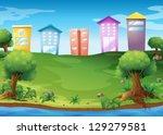 illustration of the high... | Shutterstock .eps vector #129279581