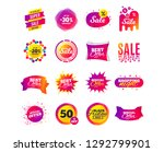 sale banner templates design.... | Shutterstock .eps vector #1292799901
