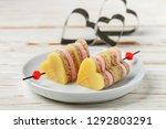 mini sandwiches parmesan cheese ... | Shutterstock . vector #1292803291
