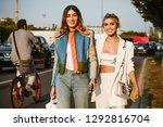 milan  italy   september 20 ...   Shutterstock . vector #1292816704