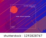 web design template. geometric...