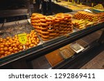 traditional desserts shop in... | Shutterstock . vector #1292869411