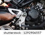 sliding wrench and big bike... | Shutterstock . vector #1292906557