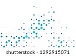 light blue vector pattern with... | Shutterstock .eps vector #1292915071