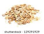 oat flakes | Shutterstock . vector #129291929