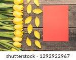 Fresh  Yellow Tulips Arranged...