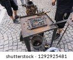 hand anvil. hummers all... | Shutterstock . vector #1292925481