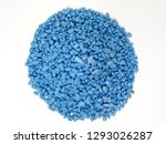 a pile of small aqua stones...   Shutterstock . vector #1293026287
