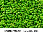 Green Peas Background Image.