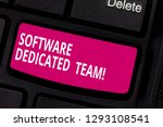 writing note showing software...   Shutterstock . vector #1293108541