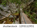 the sapadere canyon in the... | Shutterstock . vector #1293112951