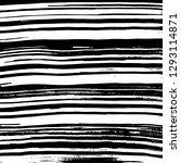 brush grunge pattern. white and ... | Shutterstock .eps vector #1293114871