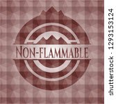 non flammable red seamless... | Shutterstock .eps vector #1293153124