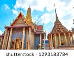 grand palace and wat phra keaw...   Shutterstock . vector #1293183784
