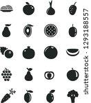 solid black vector icon set  ... | Shutterstock .eps vector #1293188557