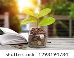 money saving growth to profit... | Shutterstock . vector #1293194734