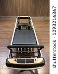 pilates reformer machine in... | Shutterstock . vector #1293216367