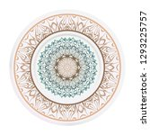 decorative plates for interior... | Shutterstock .eps vector #1293225757