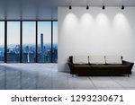 modern clean office waiting... | Shutterstock . vector #1293230671