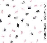 dark pink  yellow vector...   Shutterstock .eps vector #1293242764